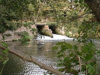 River Nadder - Image: River Nadder at Teffont Mill