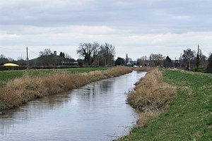River Parrett - River Parrett near Burrowbridge