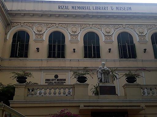 Rizal Memorial Library and Museum in Cebu City, Cebu, Philippines