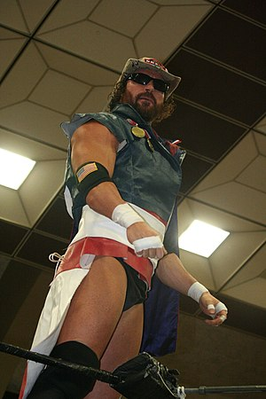 Rob Conway - Conway during an event for New Japan Pro Wrestling.