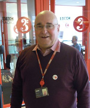Rob Cowan - Rob Cowan at a BBC Radio 3 live event at the Southbank Centre in 2016