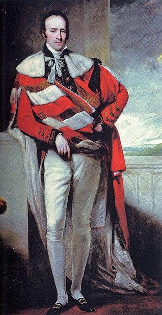 Grosvenor House - Robert Grosvenor, 1st Marquess of Westminster (d. 1845), purchaser of Grosvenor House in 1805.