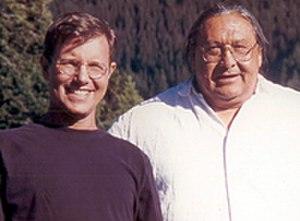 Robert Kapilow - Composer Robert Kapilow (left) and writer Darrell Kipp.