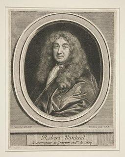 Robert Nanteuil French engraver