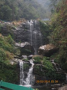 It Is The Falls At Rock Gardens In Darjeeling, West Bengal. It Looks Very  Beautiful On Rainy Days.