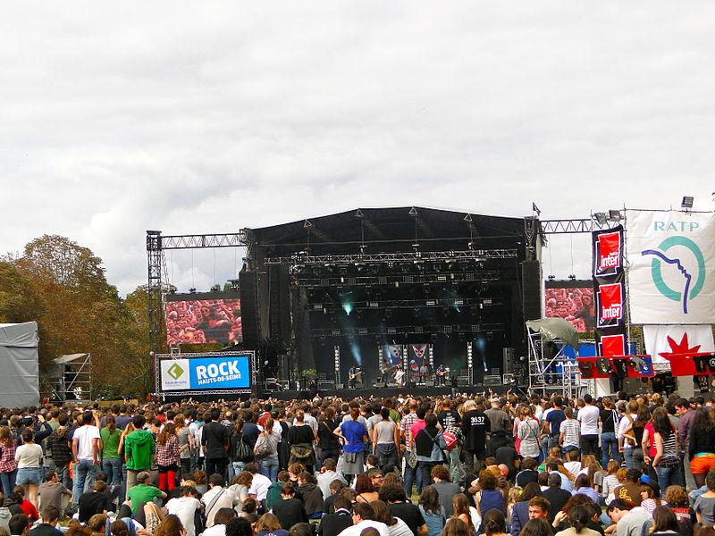 Festivais de música no verão de Paris