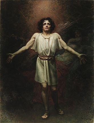 Percival - Parsifal by Rogelio de Egusquiza (1910)