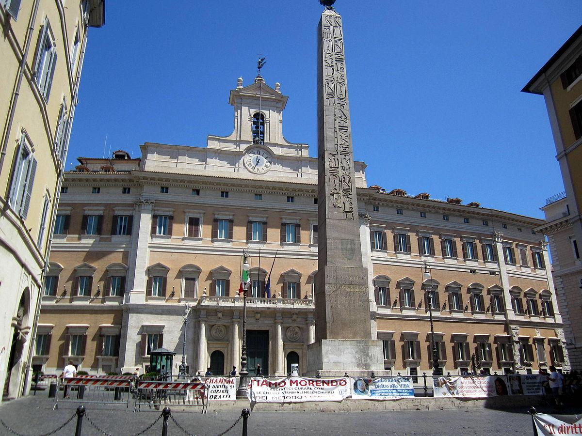 Piazza di montecitorio wikip dia a enciclop dia livre for Diretta da montecitorio