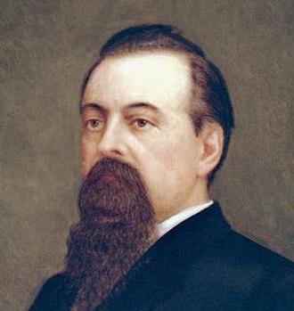 Romualdo Pacheco - Official portrait in the California State Capitol