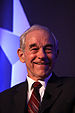 Congressman Ron Paul at an event hosted in his...