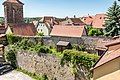 Rothenburg ob der Tauber, Stadtbefestigung, Stadtmauer zwischen Ruckesser und Siebersturm 20170526 002.jpg