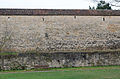 Rothenburg ob der Tauber, Stadtmauer, nördlich Kleiner Stern, Feldseite, 001.jpg