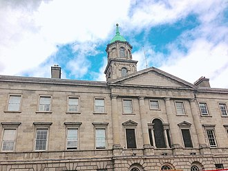 Rotunda Hospital - Rotunda Hospital frontage on Parnell Street, Dublin
