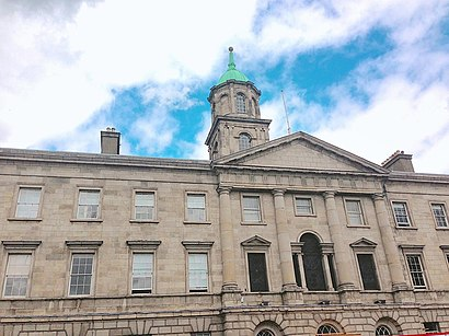 How to get to Rotunda Hospital with public transit - About the place