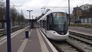 Rouen - The tramway