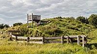 Route langs zandsculpturen in het Kuinderbos (Flevoland). 31-08-2020. (actm.) 14.jpg