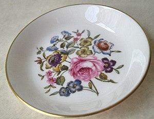 China painting - Vintage Royal Worcester bone china