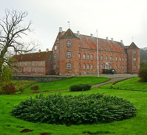 Rugaard - Rugaard castle in Denmark.