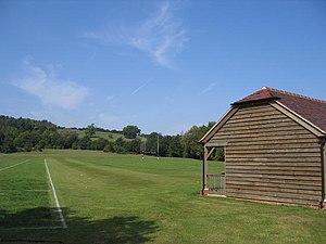 Bloxham School - The 'Pig Sty' playing fields beneath Hobb Hill, Bloxham.