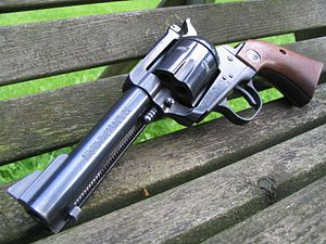 Ruger Blackhawk - A .357 Magnum/9mm convertible