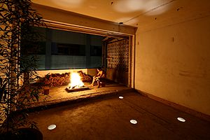 Ruin Academy - Fireplace at the Ruin Academy
