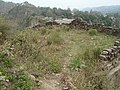 Ruined structure at north side Andheri Gate, Kangra Fort.JPG