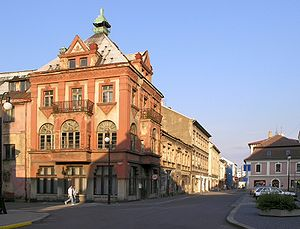 Rumburk - Corner of May 9 Road and Nerudova