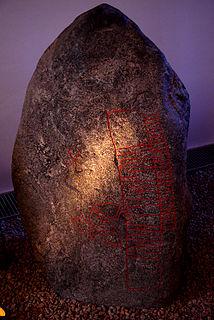 Snoldelev Stone 9th-century Danish runestone