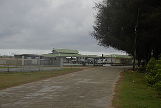 Rurutu Airport - Image: Rurutu airport