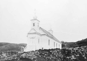 National Register of Historic Places listings in Dillingham Census Area, Alaska - Image: Russian Church, Nushagak, Alaska