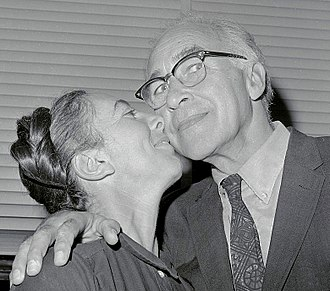 George Wald - George Wald with wife Ruth Hubbard in 1967