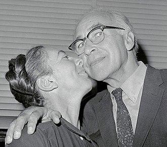 George Wald - George Wald with wife Ruth Hubbard in 1967