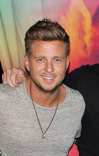 "Sessions with Ryan Tedder were unfruitful, though he and Adele co-wrote ""Remedy"". RyanTedderphotocall.jpg"