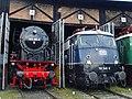 Süddeutsches Eisenbahnmuseum Heilbronn - Schnellzugloktreffen 074 - Flickr - KlausNahr.jpg