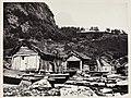 """S. 48 Geiranger - Boat Houses (""""Cruise of the """"Nereid"""" 1869"""") (7780459618).jpg"""