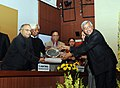 S. Jaipal Reddy presented the Dr. Jagdish Chandra Bose Hindi Granth Lekhan Puraskar, Innovative Young Biotechnologist Award (IYBA) and National Bioscience Award for Career Development.jpg
