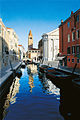 SAN BARNABA Venice's St.Barnaba Church and canal..jpg