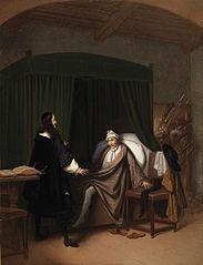 Anno 1672. De gebroeders De Witt in de Gevangenpoort