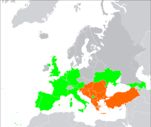 Southeast European Cooperative Initiative - Image: SECI members