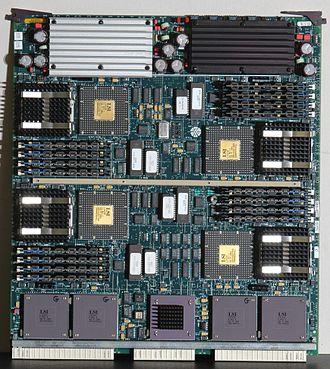 SGI Onyx - IP19 with quad R4400s.