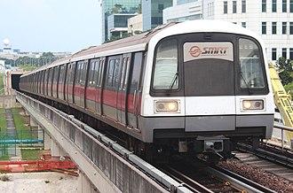 SMRT Trains - Image: SMRT Trains 102