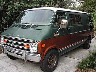 Dodge Ram van - 1978 Dodge Street Van