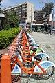 SZ 深圳 Shenzhen 南山區 Nanshan 金世紀路 Jinshiji Road Sept 2017 IX1 public bicyle parking 01.jpg