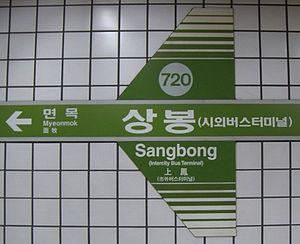 Sangbong Station - Line 7