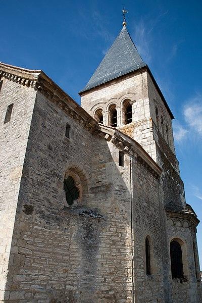 Sacy church, France.