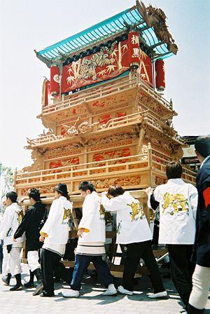 Saijō, Ehime - Image: Saijou danjiri