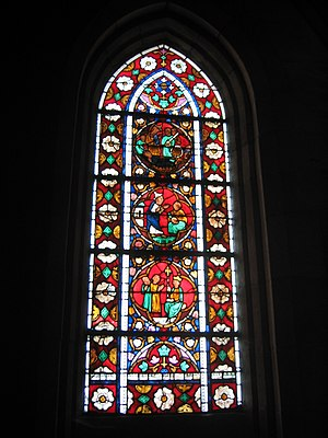 Saint-Dié Cathedral - 13th century stained glass
