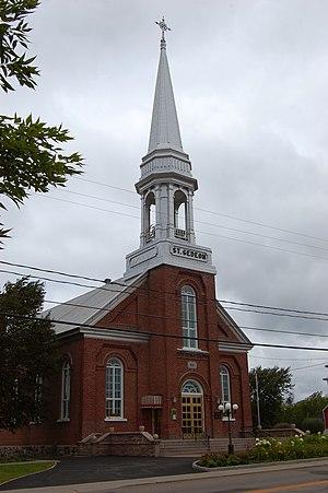 Saint-Gédéon, Quebec - Image: Saint Gédéon Québec Église Saint Antoine de Padoue