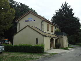 Saint-Privat-de-Vallongue, mairie.JPG