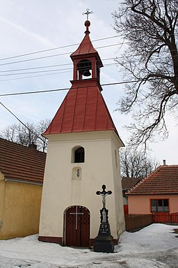 Saint Anne chapel in Bochovice, Třebíč District.jpg